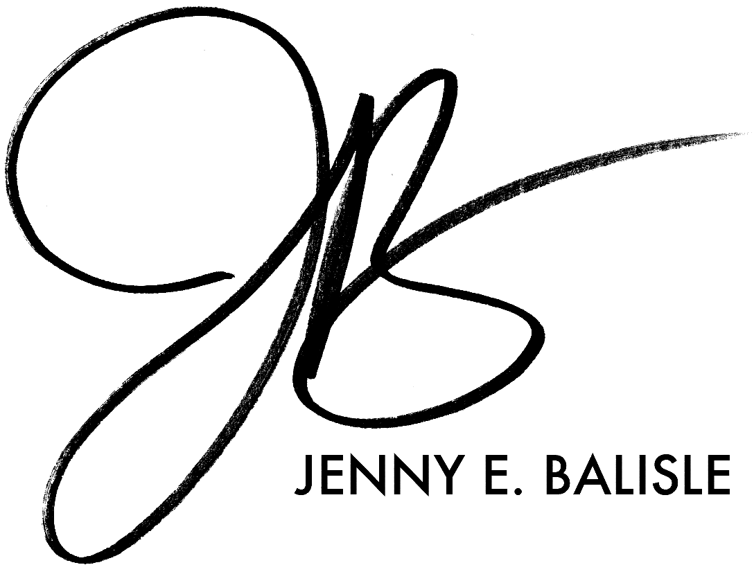 Jenny E. Balisle Signature