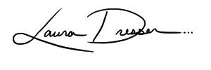 Laura Dresser Signature