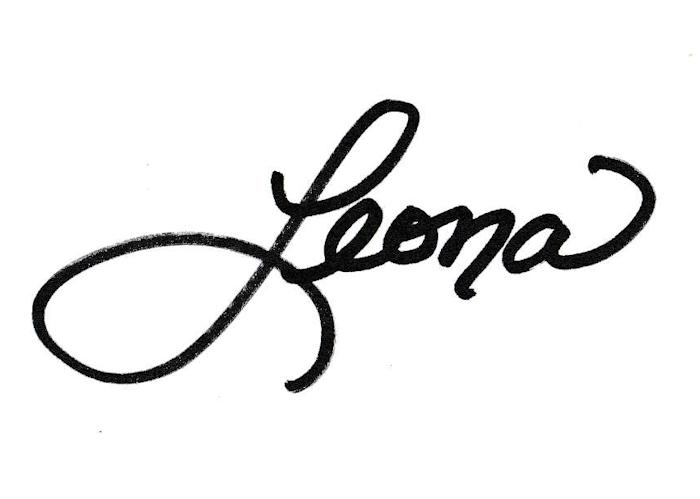 Leona Weaver Signature