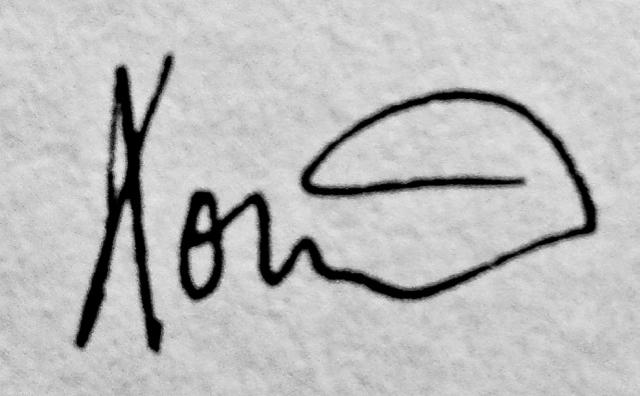 Eoin Byrne Signature