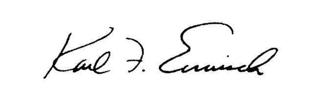 Karl Ermisch Signature