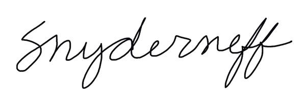 Cheryl Snyder Signature