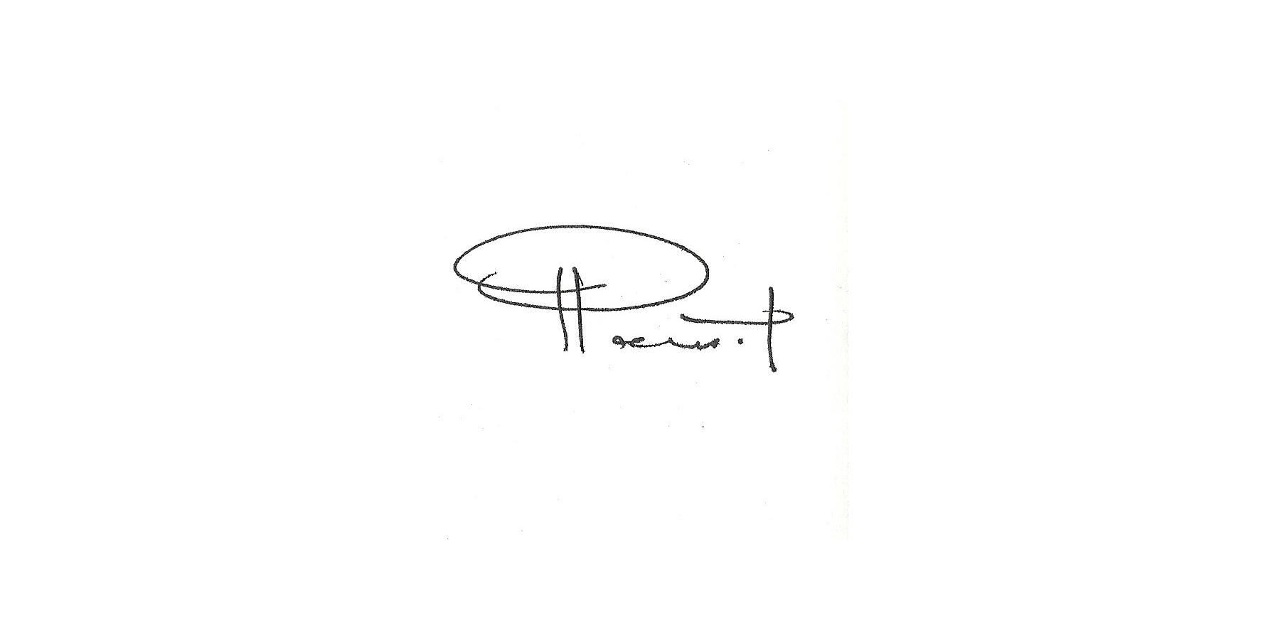 RAMSIN YEFIMA Signature