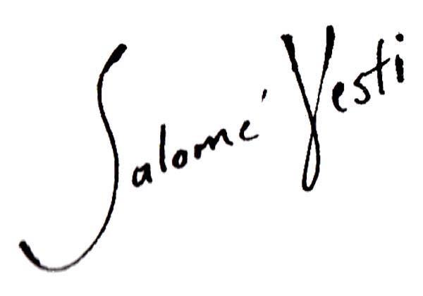 Salome Vesti Signature