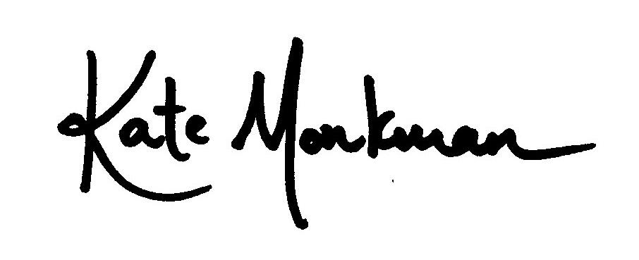 Kate Monkman Signature