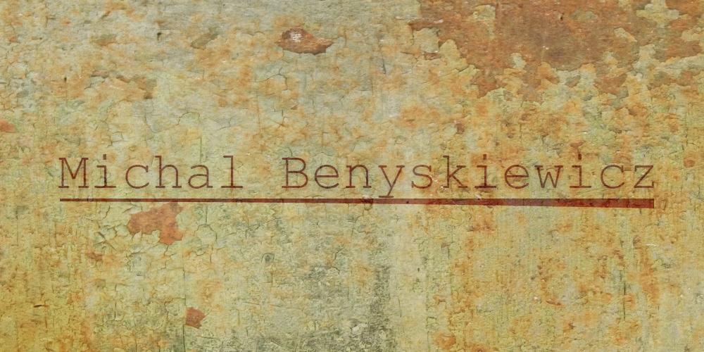 michal benyskiewicz Signature