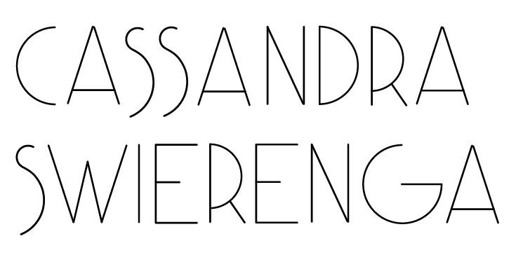 Cassandra Swierenga Signature