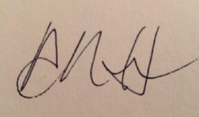 Adora Horton Signature