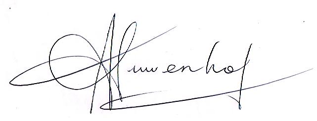 Jennifer Nieuwenhof Signature