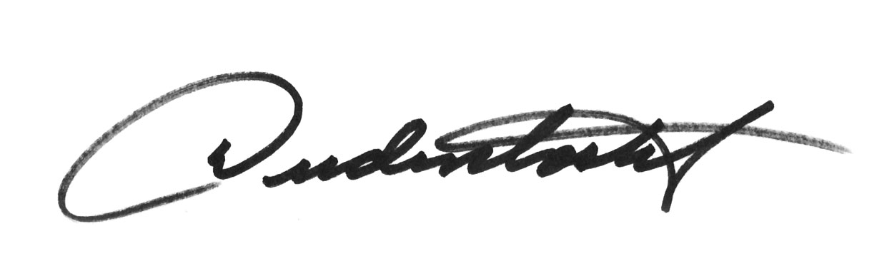 Don Dudenbostel Signature