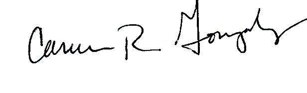 Carmen Gonzalez Signature