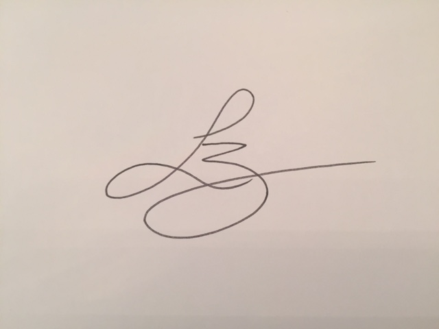 Linda Broughton Signature