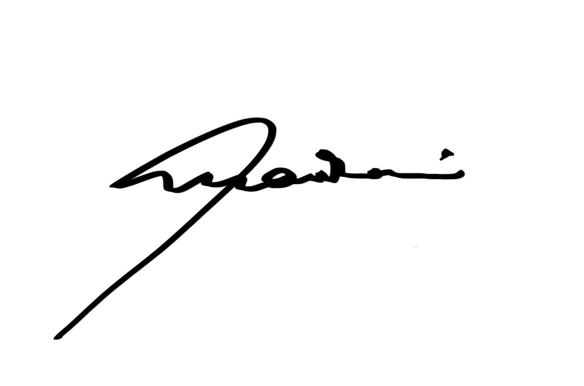 mario rossi Signature