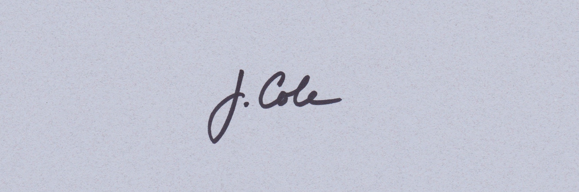 Jennifer Cole Signature