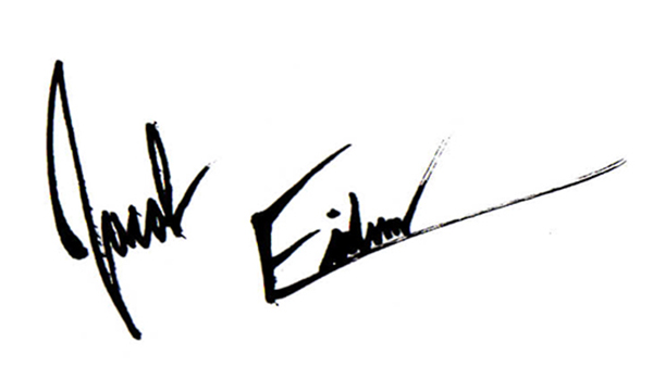 Jacob Eidem Signature