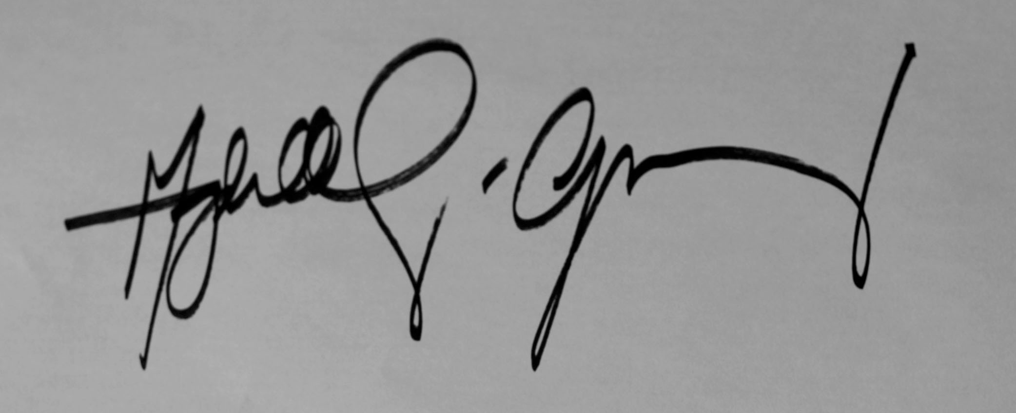 Marge Dela Cruz-Gomez Signature