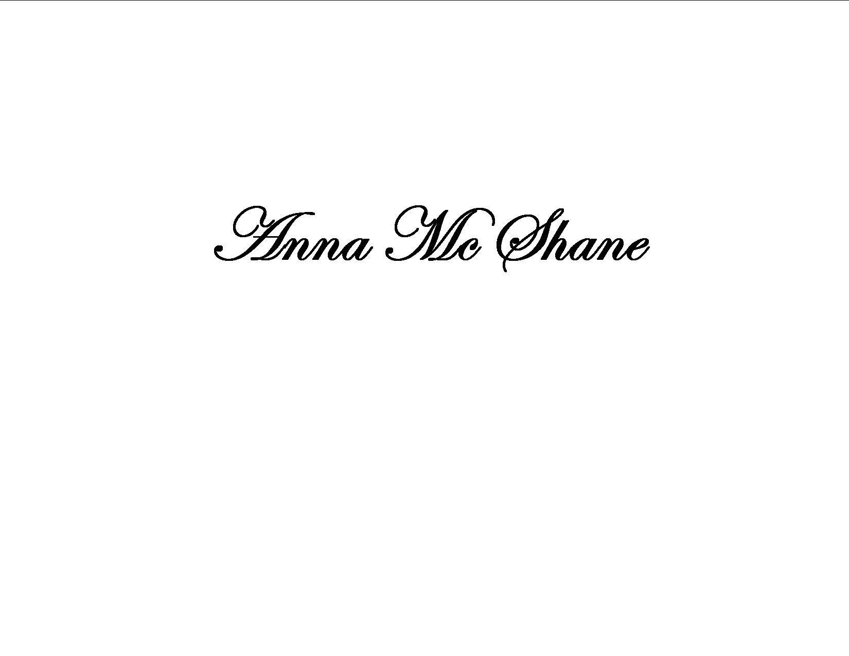 Anna Mc Shane Signature