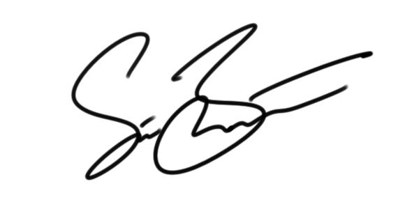Steve Benton Signature