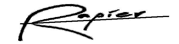 Jan Rapier Signature