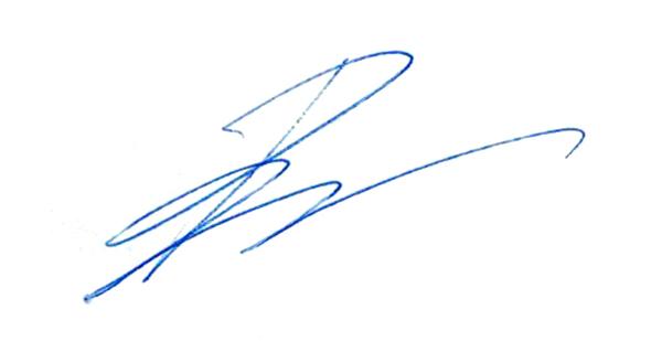 Pierre Pilon Signature