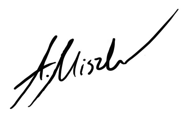 Adam Miszk Signature