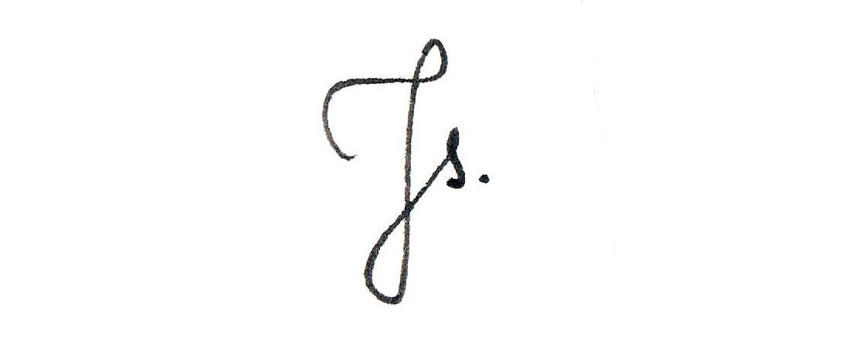 Jagoda Stączek Signature
