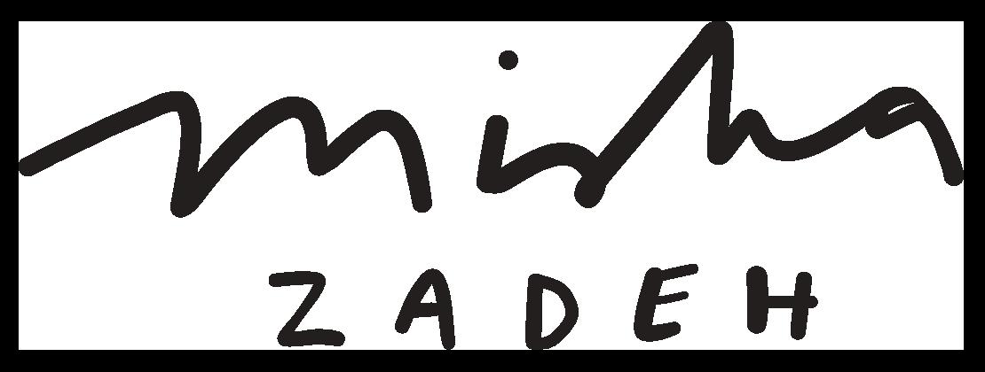 Misha zadeh Signature