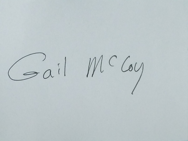 gail mccoy Signature
