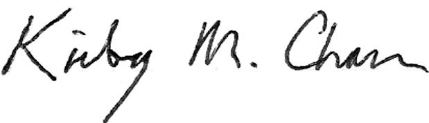 Kirby Chan Signature