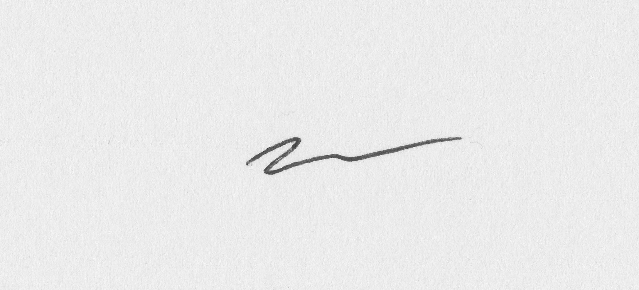Nicholas Nicola Signature
