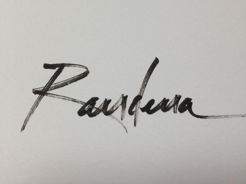 Randena Walsh Signature