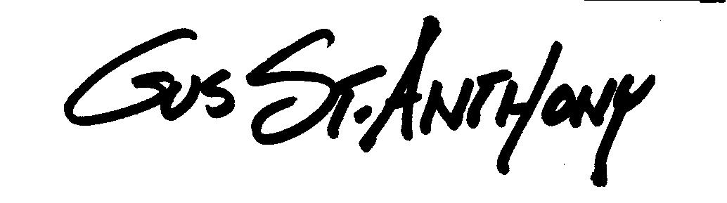 Gus St. Anthony Signature