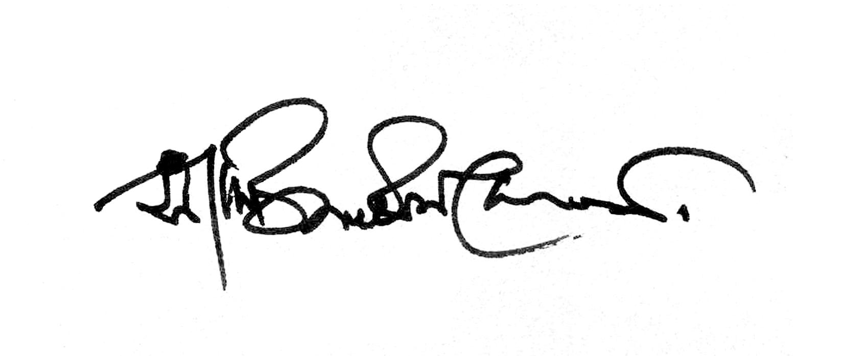 Sajid BIN Doza Signature