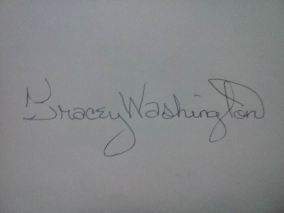Tracey Washington Signature