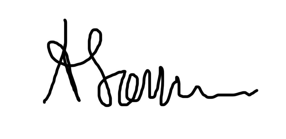 Alina Sonea Signature