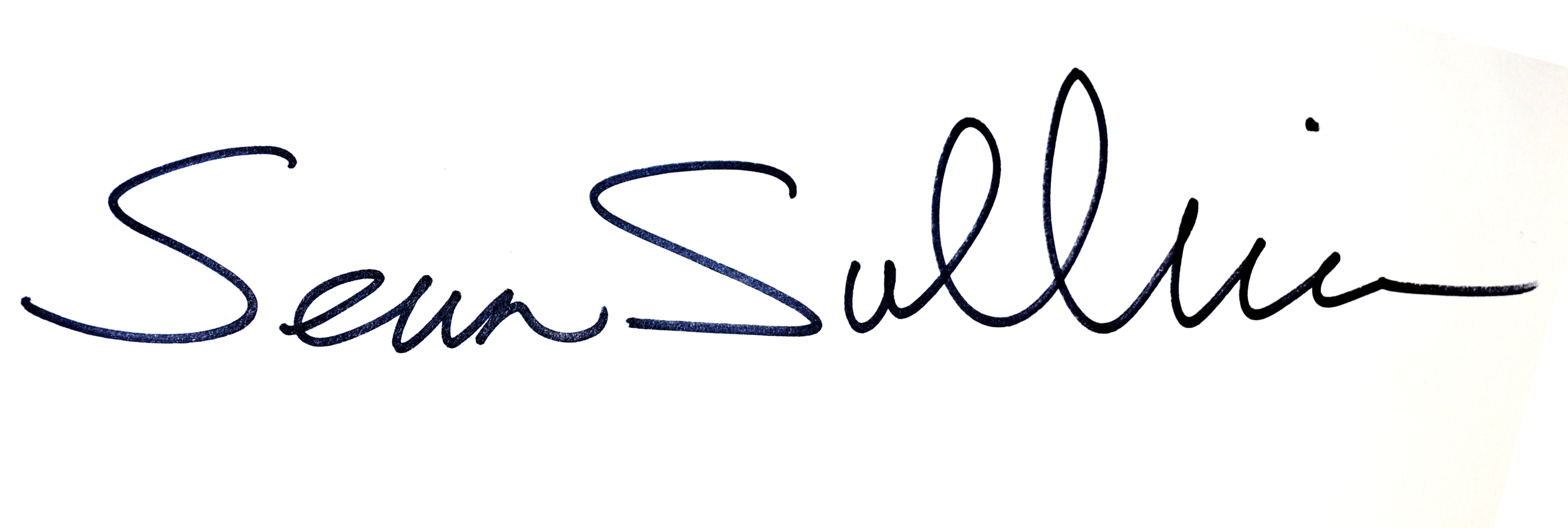 Sean Sullivan Signature