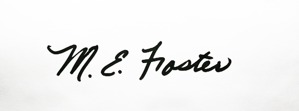 Mary E. Foster Signature