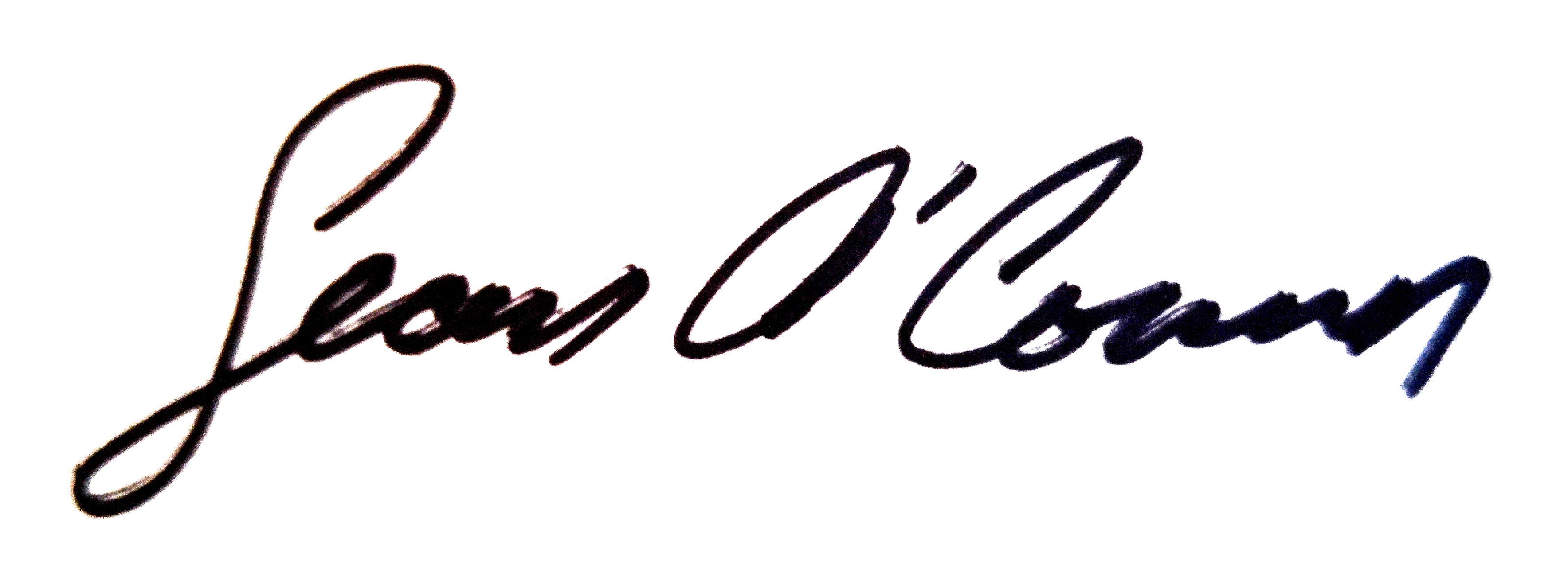 Sean OCONNOR Signature