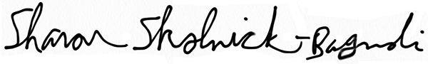 Sharon Skolnick-Bagnoli Signature