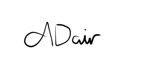 Alannah Dair Signature