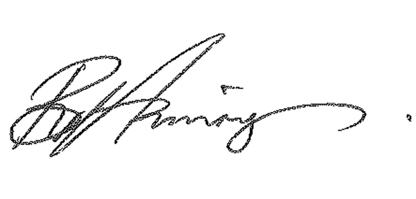 Barbara Hannigan Signature