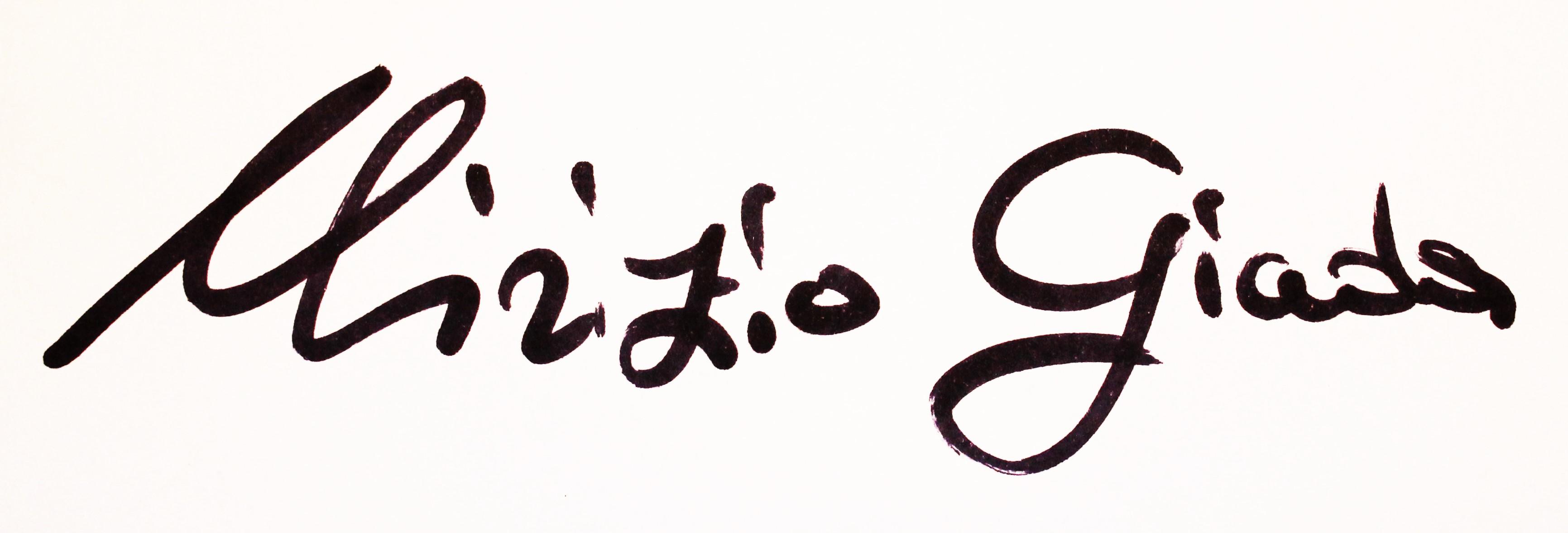Giada Mirizio Signature