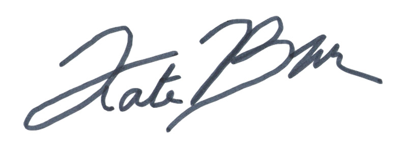 Kate Boyington Signature