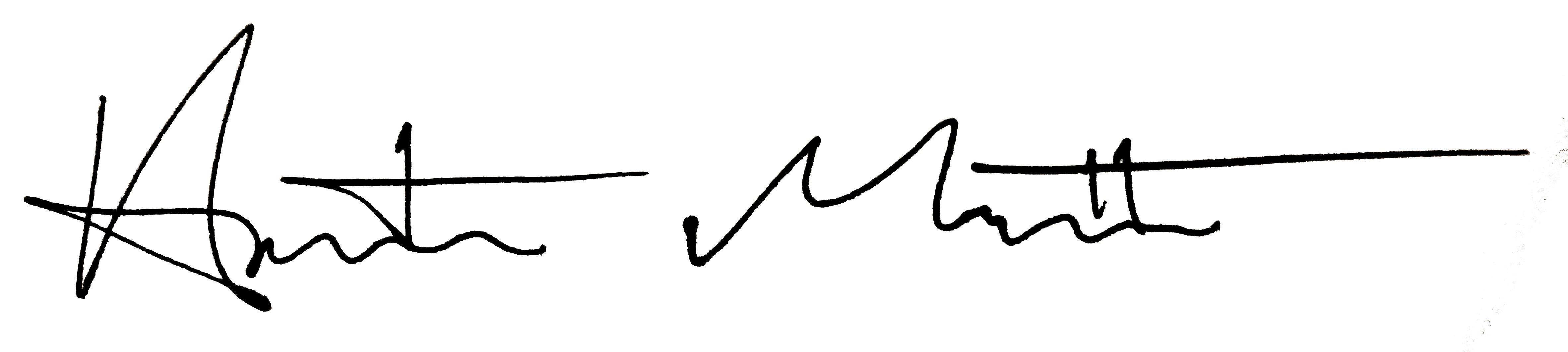 Austin Matthew Signature
