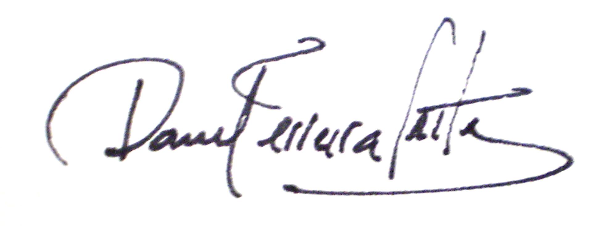 Daniel ferreira leites Signature