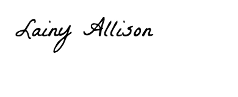 Lainy Allison Signature