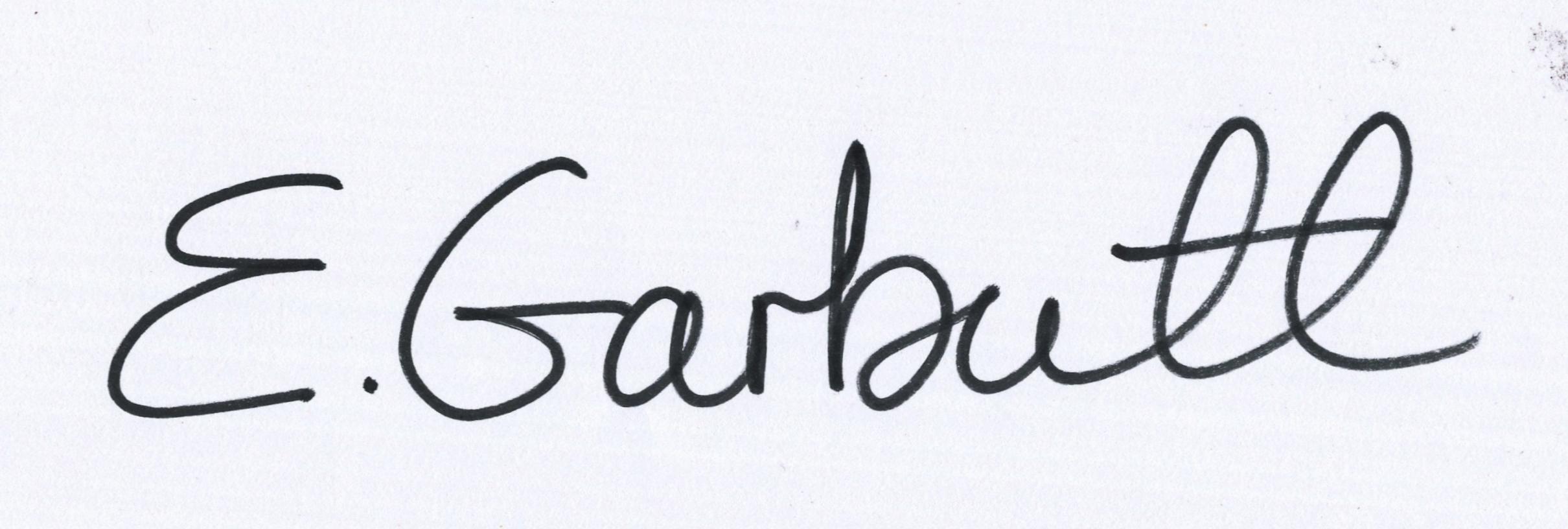 eryka garbutt Signature