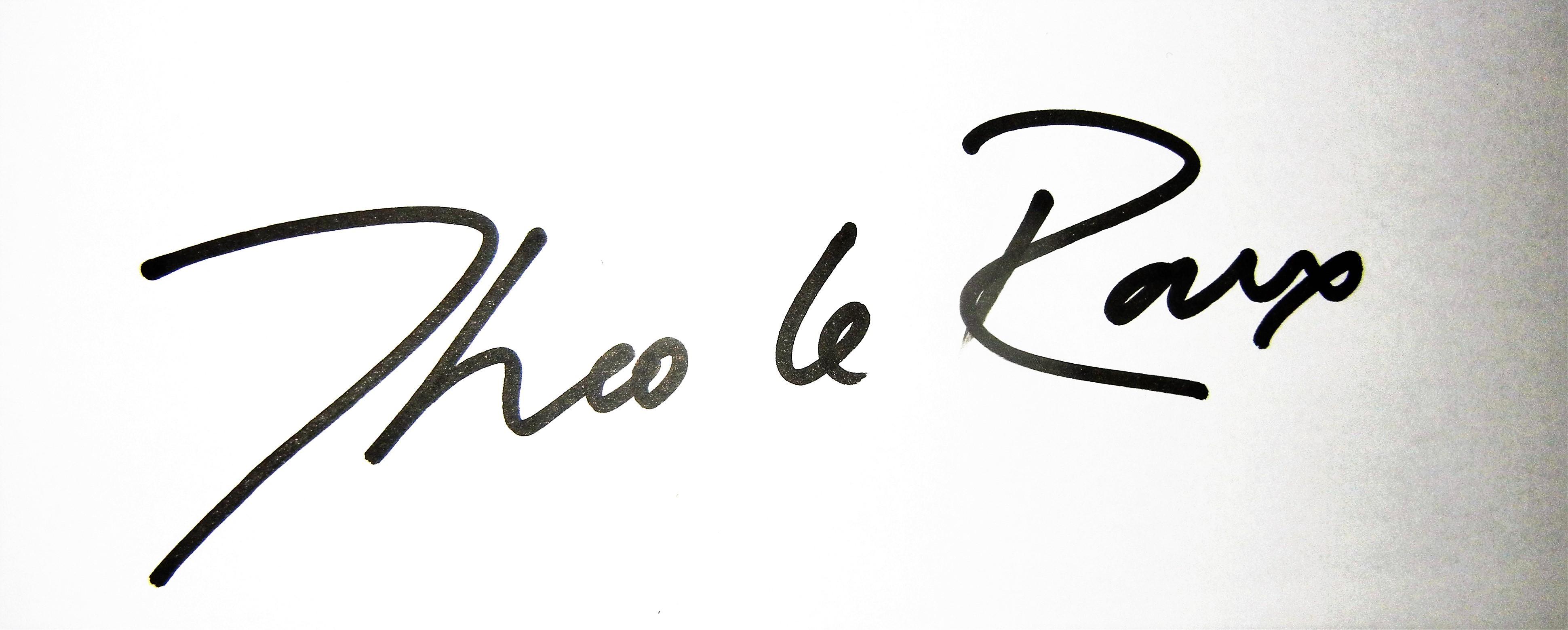 Theo le Roux Signature