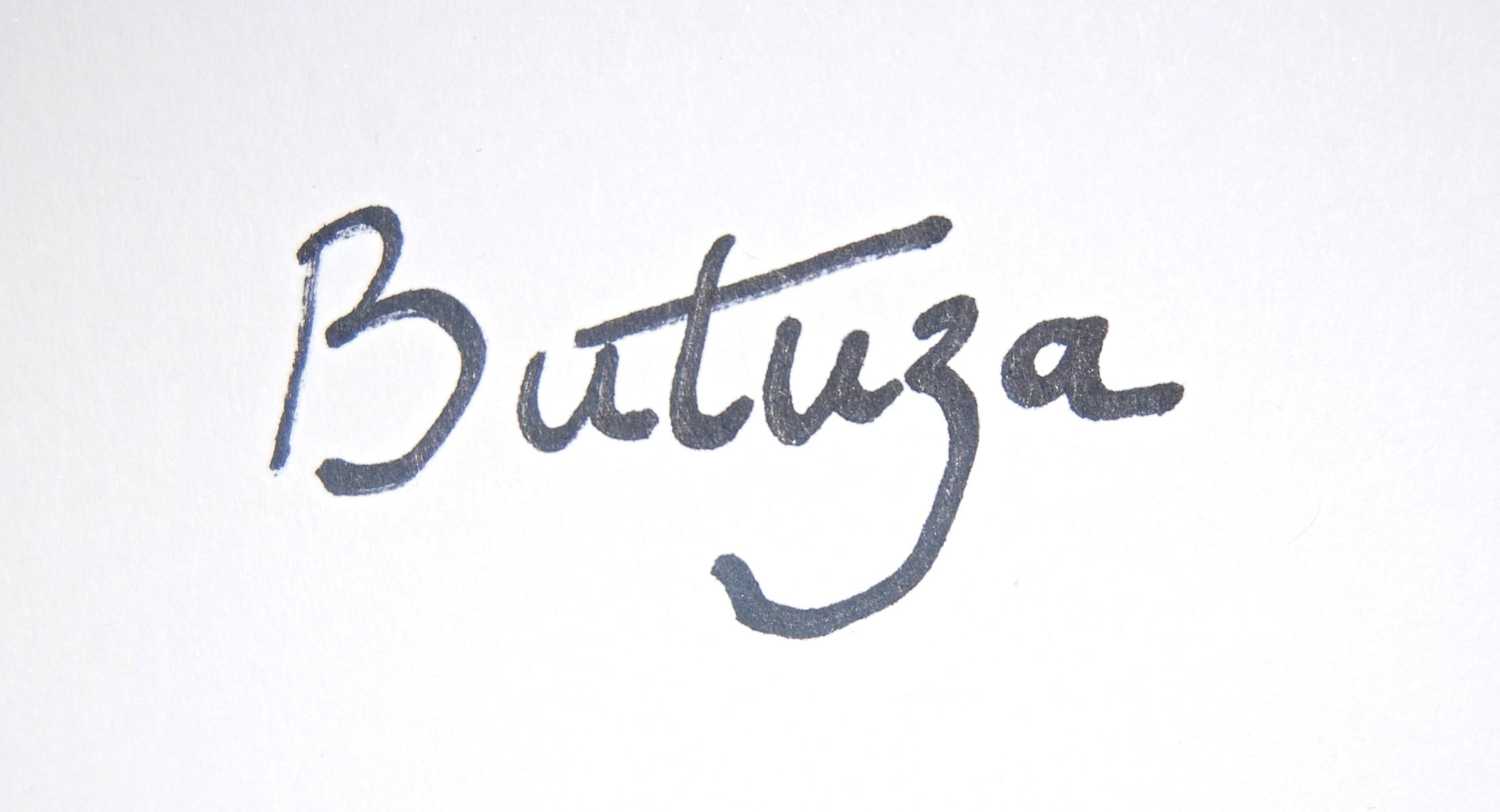 Cath Butuza Signature