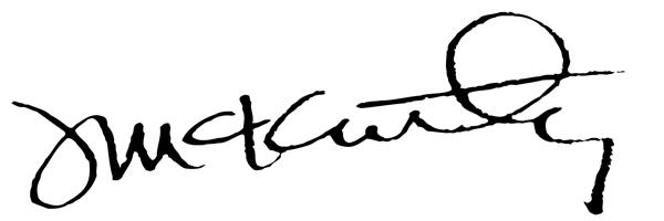 Jeff McKinley Signature